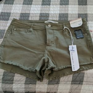 Olive army green celebrity pink shorts BRAND NEW